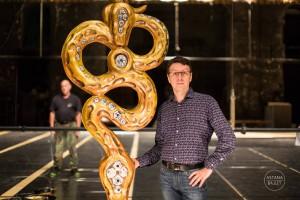 Николай Маркелов, хореограф. Фото предоставлено пресс-службой театра Астана балет