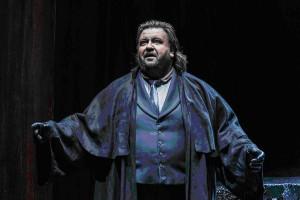 Йохан Бота в роли Императора в опере «Женщина без тени», Clive Barda, 2014