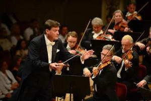 Кристиан Тилеман с оркестром Дрезденской Штаатскапеллы