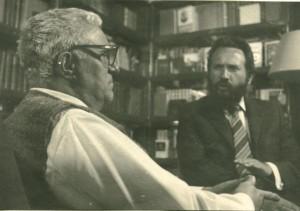 Георгий Свиридов и Андрей Золотов. 1960-е годы. Фото из архива А.А.Золотова