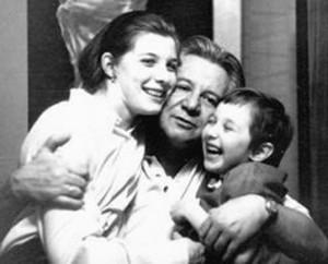 Маргарита Перкун-Бебезичи с отцом