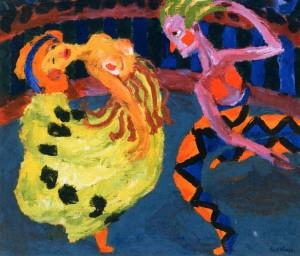 Танцовщица и Арлекин