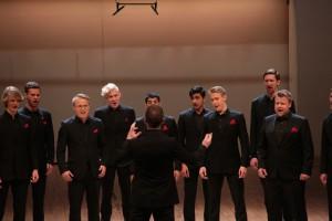 Шведский мужской хор Зеро Эйт