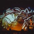 """Ёлка с песочной анимацией «Двенадцать месяцев» на музыку Чайковского """"Времена года"""""""