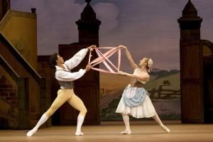 Танец с лентой. Тщетная предосторожность. балет