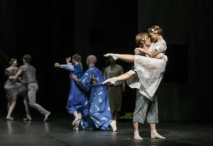 Линда Хаакана (Джульетта), Илья Болотов (Ромео). Фотограф Сакари Виика (Sakari Viika)