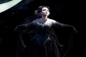 Альбина Шагимуратова в роли Царицы ночи, «Волшебная флейта». Photo Mike Hoban