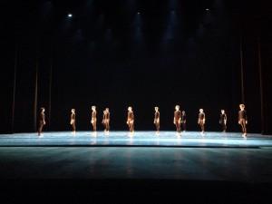 Репетиция на сцене Мариинского театра. Фото с сайта vk.com/context.dianavishneva