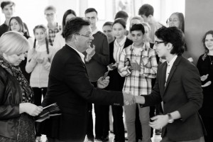 Вручение студенческих билетов первокурсникам Академического музыкального колледжа при Московской консерватории