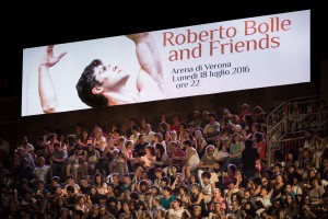 Roberto Bolle and Friends Arena di Verona 2016