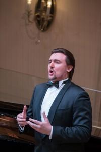Концерт Кристины Мхитарян и Игоря Головатенко