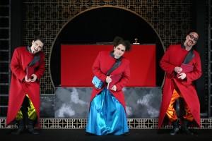 Турандот в Геликон-опере сцена из спектакля