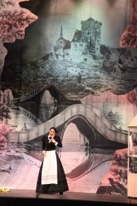 Добропорядочная Маргарита (Елизавета Соина) в своем добропорядочном садике