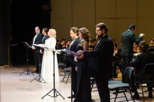 Орлеанская дева в концертном исполнении.. Солисты