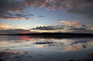 Закат в Кухмо