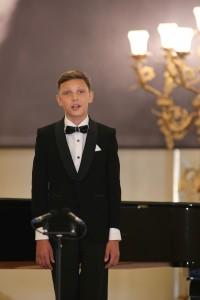Победители конкурса юных вокалистов. Кирилл Чубко . Фото Анатолия Медведя.