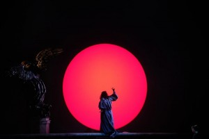 Опера Тоска в Вероне. Восход солнца