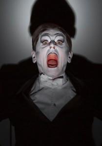 Загримированное лицо Барышникова, «Письмо человеку»