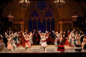 "Сцена из балета ""Лебединое озеро"""