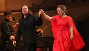 Юлия Лежнева устроила в Москве «Барочную феерию»