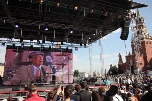 Евгений Евтушенко встреча на Красной площади
