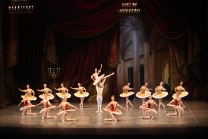 "Сцена из Grand pas балета ""Пахита"""