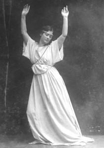 Танцующая Айседора Дункан