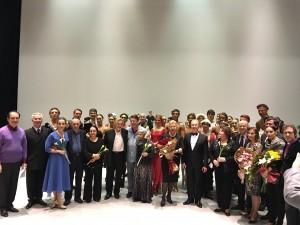 Праздничный вечер «Учителя и ученики. Эстафета звёзд» на Исторической сцене Большого театра