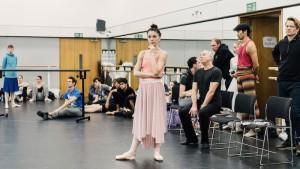 Наталья Осипова на репетиции в ROH, Лондон, Harry Mitchell