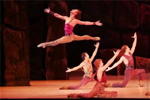 Балет «Спартак» в Новосибирском государственном театре