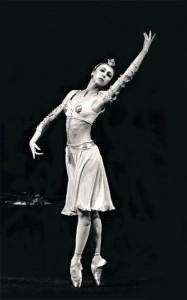 """В партии Никии в балете """"Баядерка"""". Фото Алексея Бражникова / из музея Большого театра"""