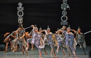 Балет «Спартак» в Новосибирском государственном театре оперы и балета