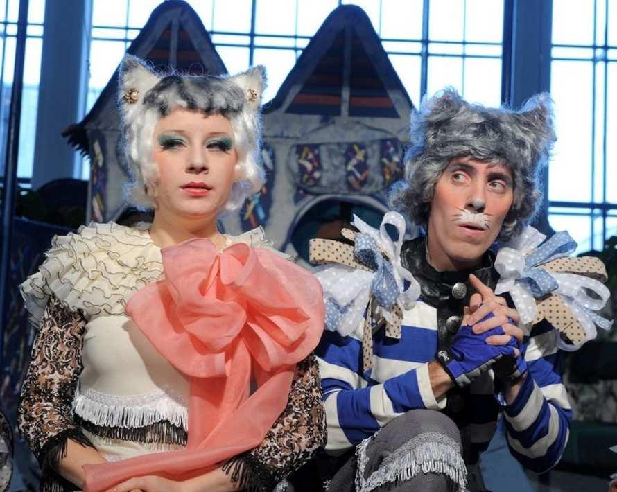 Опера «Кошкин дом» в Московском государственном академическом детском музыкальном театре имени Н. И. Сац