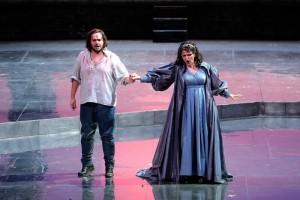 Опера Тоска в Вероне. Дуэт