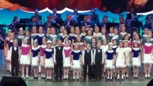 Большой детский хор телевидения и радио России (ВГТРК) объявляет конкурсный набор детей