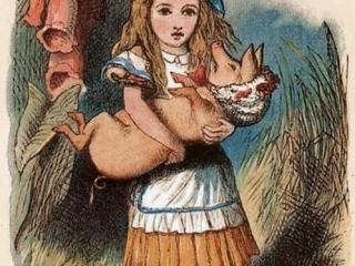 Размышления о ненаписанной фразе или Куда шла Алиса